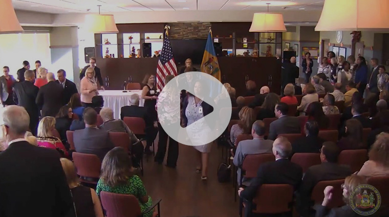 House Joint Resolution 7 Bill Signing