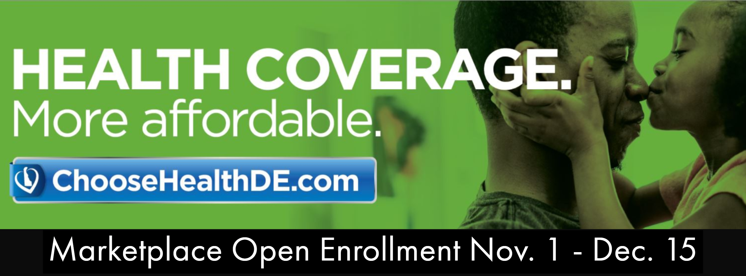 Nov 1 – Dec 15: Open Enrollment for Delaware's Health Insurance Marketplace